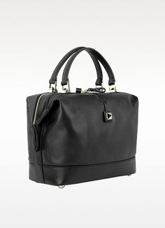 Valentino Garavani Rockstud - Large Black Leather Satchel.. valentino rockstud collection, this piece is more refined and incorporates the signature rockstud details.