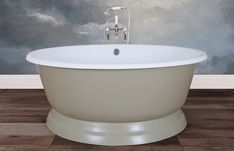 Traditional roll top baths made from copper, cast iron and brass, complemented with our range of bathroom accessories. Cast Iron Bath, Copper Bath, Roll Top Bath, Bathroom Accessories, It Cast, Bathtub, Brass, Traditional, Classic