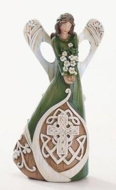 Irish Angel figurines.