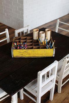Cute Farmhouse Modern kids table