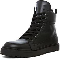 Kris Van Assche Zip Back Sneaker in Black <3 $598.00 thestylecure.com