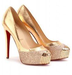 zapatos dorados de fiesta - Buscar con Google
