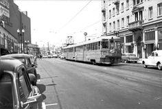 B train in Oakland.