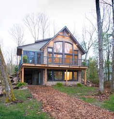 Cabin House Plans, Mountain House Plans, New House Plans, A Frame House Plans, Mountain Cottage, Cabin Floor Plans, Cabin Design, Cottage Design, House Design