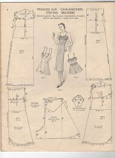 Fondo para vestido 1940's