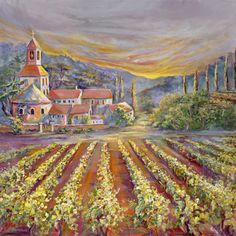 Wine Country ~ by Ginger Cook
