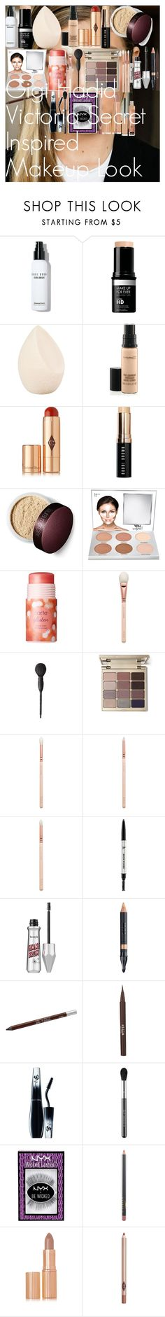 """Gigi Hadid Victoria Secret Inspired Makeup Look"" by oroartye-1 on Polyvore featuring beauty, Bobbi Brown Cosmetics, MAKE UP FOR EVER, Christian Dior, MAC Cosmetics, Charlotte Tilbury, It Cosmetics, tarte, ZOEVA and Benefit"