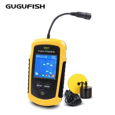 Angelsport Lucky Outdoor LCD Portable Fischfinder 200m Wireless Sonar Sensor Fishfinder FV