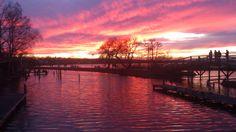 Sonnenuntergang im Winter (29.12.2012) #Steinhude