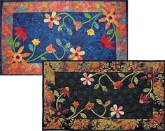 Floral Table Runner Quilt Pattern JDQ-101