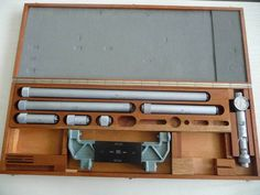 TESA UNITEST Internal Micrometer Set 200-1400mm Inside Micrométre Intérieur #TESA