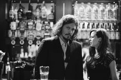 The Civil Wars. They are tremendous, very moving. Their song, 'C'est la mort' is one of the most enchanting and haunting things I've ever heard.