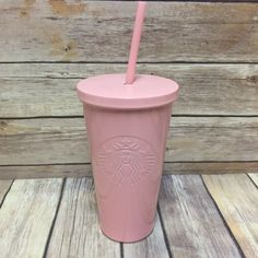 Starbucks 2017 Pink Travel Coffee Mug and Straw Stainless Steel Siren Logo Pink Starbucks Cup, Starbucks Tumbler Cup, Starbucks Bottles, Starbucks Secret Menu, Starbucks Drinks, Starbucks Stainless Steel Tumbler, Great Coffee, Hot Coffee, Coffee Cups