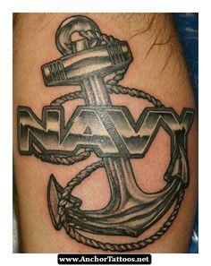 Us Navy Anchor Tattoos 08 - http://anchortattoos.net/us-navy-anchor-tattoos-08/