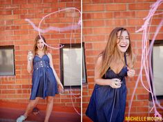 Silly String!  By Michelle Moore.