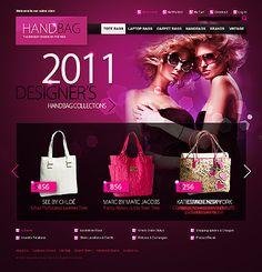 Handbag Boutique Magento Themes by Hermes