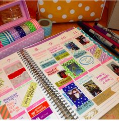 #eclifeplanner14. *Love the bright colors & the pictures.*