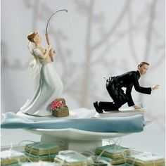 La figurine humoristique, gâteau
