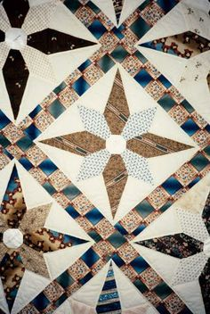 Detail. Made in Salem County, NJ, 1845, by Ann Hand. Documented by The Heritage Quilt Project of NJ.: