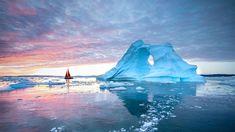 Diskobucht, Ilulissat, Grönland Antarctic Circle, Greenland Dog, Polar Night, Western Coast, Fjord, Midnight Sun, Tourist Places, Natural Phenomena, Ultimate Travel