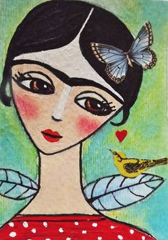 Frida Aceo Card