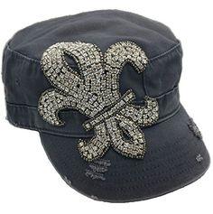 Cap Couture Women's Fleur de Lis Cadet Hat Grey One Size Cap Couture http://www.amazon.com/dp/B00P8B0L14/ref=cm_sw_r_pi_dp_UFRwub0Z76JTM