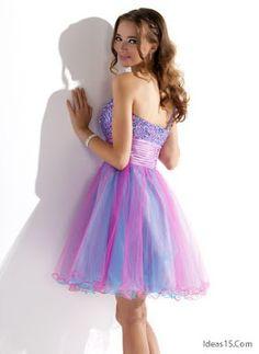 Vestidos de 15 años cortos modernos Prom Dresses, Formal Dresses, Frases Tumblr, Bride, How To Wear, Outfits, Beautiful, Google, Fashion