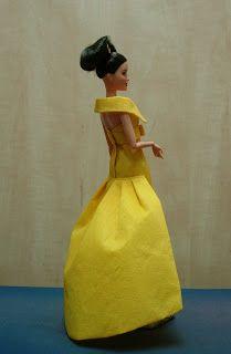 EXPOSICION DE VESTIDOS DE PAPEL Barbie, Disney Princess, Disney Characters, Paper Dresses, Zaragoza, Exhibitions, Paper Envelopes, Patterns, Sewing