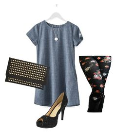 """Casual Business Dinner"" by chicastic ❤ liked on Polyvore featuring Mark & Graham"