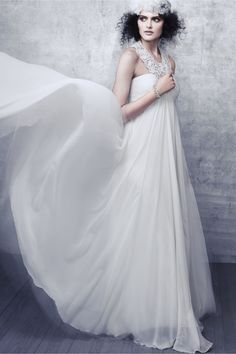 Blossoming Weir Gown in SHOP The Bride Wedding Dresses at BHLDN  Without lace...