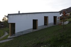 Peter Märkli - Atelierhaus Weissacher, Rumisberg -