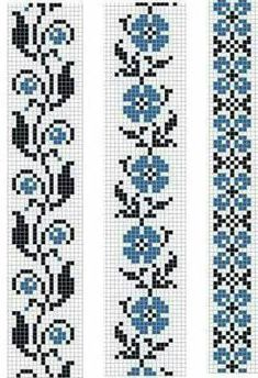 Easiest Crochet Frills Border Ever! Cross Stitch Bookmarks, Cross Stitch Borders, Crochet Borders, Cross Stitch Flowers, Cross Stitch Designs, Cross Stitching, Cross Stitch Embroidery, Embroidery Patterns, Cross Stitch Patterns