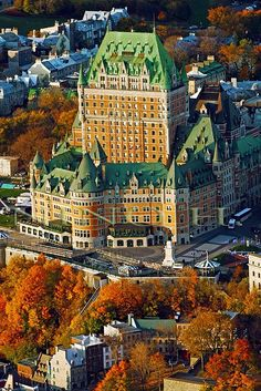 Chateau Frontenac, Quebec, Canada. Μιλιέται η γαλλική και αγγλική γλώσσα.