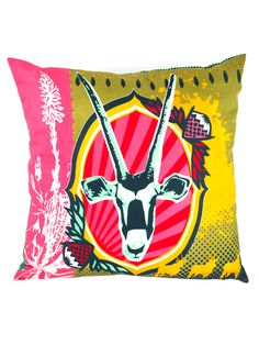 Mr Price Home - Kiekie Colab Project - Colorfull pillow