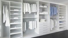 begehbarer Kleiderschrank mit Schiebetüren - Ankleide - Alpnach Norm-Schrankelemente AG