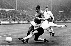 Tough man: Ray Wilson gained 63 caps for England and managed a third place finish at the 1968 European Championships