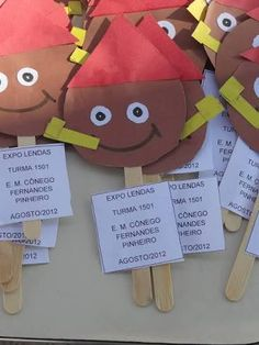 Resultado de imagem para projeto folclore educação infantil Diy And Crafts, Crafts For Kids, Professor, Montessori, Activities, Education, Christmas Ornaments, Holiday Decor, Rose