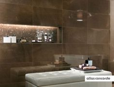 #MARVEL bronze | #Wall design | #AtlasConcorde | #Tiles | #Ceramic