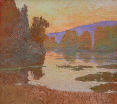 """Light of Comfort"" by Daniel W. Pinkham, high X wide, oil on linen - Wood River Fine Arts Impressionist Paintings, Impressionism, Landscape Paintings, Landscapes, Wood River, Rise Art, California Art, Southwest Art, Oil Painters"
