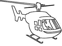 Complete Collection Of Helicopter Coloring Pages Freecoloring Org