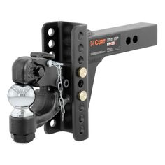 Reese Towpower 65070 Front Mount Receiver with 2 Square Receiver Opening