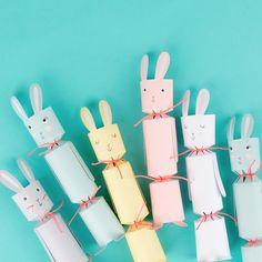 Vous allez forcément craquer pour ces petits lapins, parfaits pour Pâques ! Easter is coming, get ready! #crackers