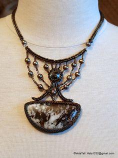 Veta's Art with Beads: Astrophyllite 2 / Астрофилит 2
