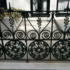 beautiful wrought iron fence
