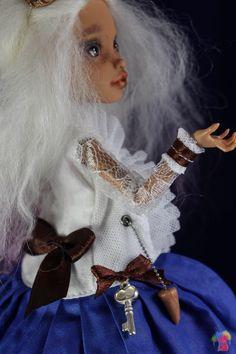 Custom Monster High Doll OOAK Howleen Wolf Repaint by Chelokotik - full set | eBay