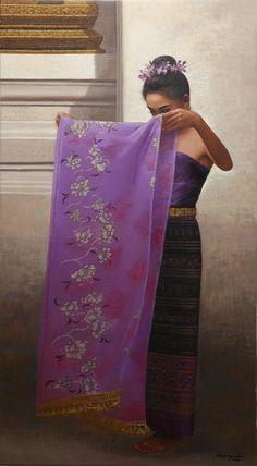 Rearngsak Boonyavanishkul        Born in 1961, Singhburi, Thailand  Education: B.F.A. (Thai Art) 1986, Silpakorn University, Bangkok, Thaila...