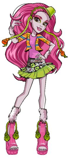 All about Monster High: Marisol Coxi