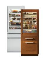 14.31 Cu Ft Total Capacity/ 10.59 Cu Ft Refrigerator Capacity/ 1.11 Cu Ft Freezer Capacity/ 2.61 Cu Ft Convertible Drawer Capacity/ First HFC-Free Refrigerator In The U.S./ Freezer Drawer With Electronic Icemaker/ LED Interior Lighting/ Adjustable Glass Shelves/ Self-Closing Vegetable Drawer/ Integrated, Panel-Ready Design/ Panels Required, Sold Separately