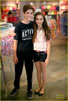 Girl Meets World - Teo Halm and Rowan Blanchard as Brother and Sister Elliott and Riley Matthews - Elliot has been pulled from the show :(