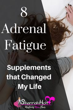 8 Adrenal Fatigue Supplements that Changed My Life Are you tired all day? Not sleeping well at night? You may have Adrenal fatigue. Check out these 8 Supplements that Changed My Life. I'm finally not suffering from all day fatigue, and have more energy th Fatiga Adrenal, Adrenal Health, Adrenal Glands, Adrenal Failure, Adrenal Fatigue Treatment, Adrenal Fatigue Symptoms, Thyroid Symptoms, Menopause Symptoms, Thyroid Disease